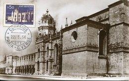 50299 Cabo Verde, Maximum 1954 Monastery  Abbey  Of Jeronimos Lisboa,  Kloster , Architecture - Klöster
