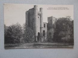 ENVIRONS DE LA CHARITE (58) RUINES DU CHATEAU DE PASSY LES TOURS  VOYAGEE  1933 - La Charité Sur Loire