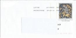 """Prêt à Poster PAP """" Repiquage Timbre Cathédrale Sainte Cécile ALBI """" Oblitéré 2010 - Postal Stamped Stationery"""