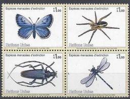 UNO-Genf ONU Genève UNPA Geneva 2009: Ameisenbläuling - Azuré Du Serpolet (Phengaris Arion) Zu 648-651 Mi 640-643 ** MNH - Papillons