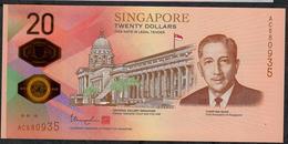 SINGAPORE NLP 20 DOLLARS BICENTENNIAL COMMEMORATIVE 1819 - 2019 UNC. - Singapore