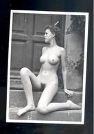 Photo Femme Nue   Nu Nude Woman Naturisme   15 X10,5 Cm - Beauté Féminine (1941-1960)