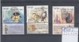 Israel Michel Cat.No. Mnh/** 1892/1894 - Nuevos (con Tab)