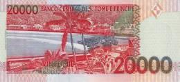 SAO TOME E PRINCIPE P. 67a 20000 D 1996 UNC - Sao Tome And Principe