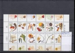 Israel Michel Cat.No. Sheet    Mnh/** 1649/1660 - Blocks & Sheetlets