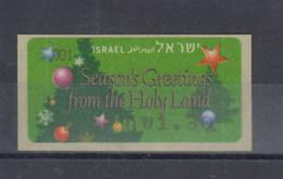 Israel Michel Cat.No.  ATM  Mnh/** 47 - Franking Labels
