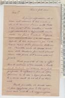 LETTERA LETTURA DELLA MANO 1906  4 PAGG. - Historische Dokumente