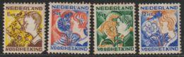 Nederland 1932 NVPH Nr. 248-251 MH  Kinderzegels   Cat € 45 - Periode 1891-1948 (Wilhelmina)