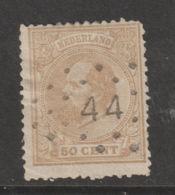 Nederland 1872  NVPH Nr.  27 Used - 1852-1890 (Guillaume III)