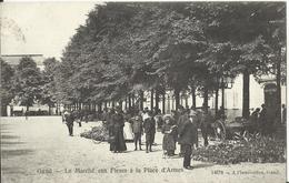 Gand Gent Le Marché Aux Fleurs à La Place D' Armes N° 14578 - 1908 - Gent