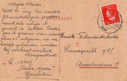 22 XII 1947   Ansicht Van LOPIK-RADIO Van IJsselstein Naar Amsterdam - Covers & Documents