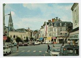 - CPSM ARGENTON-SUR-CREUSE (36) - Place De La République - Edition GUILLONNET 735 - - Autres Communes