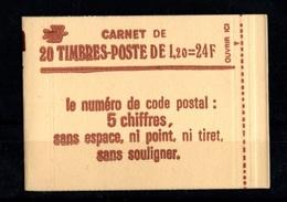France-carnet-1974-c4-sabine De Gandon 1,2fr Fermé - Carnets