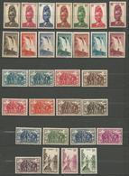 CAMEROUN  N° 162 à 191 NEUF* AVEC OU TRACE DE CHARNIERE / MH - Cameroun (1915-1959)