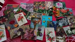 DEB 106  LOT FLEURS       LOT 112 CARTES DIVERSES - Fleurs