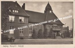 CASTROP - RAUXEL 1955 BAHNHOF MIT ALTEM WAGEN / ANIMIERT - Castrop-Rauxel