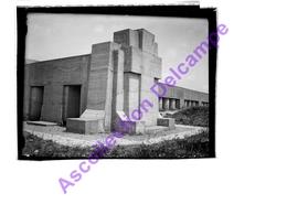 Photo Plaque De Verre Négatif ! Monument Commémoratif De La Tranchée Des Baïonnettes  Douaumont (Meuse) WW1 - Glasdias