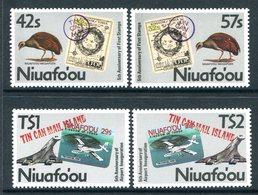 Niuafo'Ou - Tonga 1988 First Anniversary Of Niuafo'Ou Postage Stamp Set MNH (SG 103-106) - Tonga (1970-...)