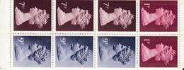 GREAT BRITAIN 50p Clement-Talbot Booklet MNH (**) B152 - Markenheftchen