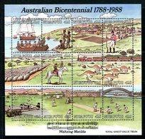 Niuafo'Ou - Tonga 1988 Bicentenary Of Australian Settlement MS MNH (SG MS107) - Tonga (1970-...)