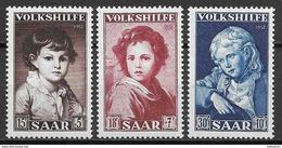 Saar 1952, Complete Set MNH - Nuovi