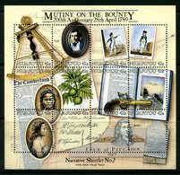 Niuafo'Ou - Tonga 1989 Bicentenary Of Mutiny On The Bounty MS MNH (SG MS112) - Tonga (1970-...)