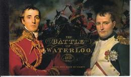 GREAT BRITAIN 2015 Battle Of Waterloo Napaleon Prestige Booklet MNH (**) B153 - Napoleon