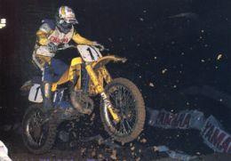 N°1017 T -cpsm Bob Hannah (USA) Moto Cross - Sport Moto