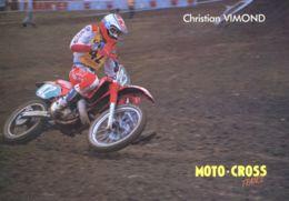 N°1023 T -cpsm Christian Vimond -moto Cross- - Motociclismo