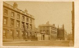 CDV, Oxford, Magdalen Hall, Hills Saunders - Photographs