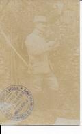Carte Postale Avec Cachet Garde Des Voies De Communication 6ème Corps D' Armée   GJ - Cachets Généralité