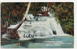 JAMAÏQUE : Greetinus From Jamaica Dunn's River Famous Bathing Place St Anns Kingston - Jamaïque