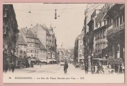 F - 67 Strasbourg - Rue Du Vieux Marché Aux Vins Animée Nc Ed ND. #34 - Strasbourg