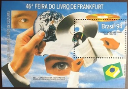 Brazil 1994 Book Fair Minisheet MNH - Brazilië
