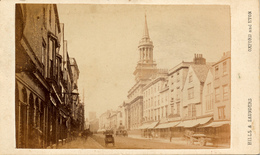 CDV, Oxford, High Street, Hills Saunders - Photographs