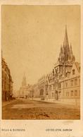 CDV, Oxford, High Street,St. Mary's Church, Hills Saunders - Photographs