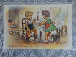 Bouret, Germaine Illustrateur Dis Donc Nenette Pas Fameux Ton Pinard  EDITION MD  PARIS - Bouret, Germaine