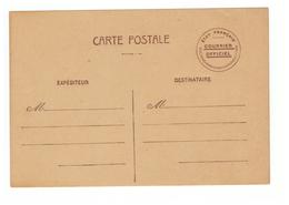 Entier Postal Etat Français Courrier Officiel Neuf - Postmark Collection (Covers)
