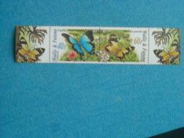 PAPILLONS - Bande Timbre Neuve Xx N° 641/2 Avec Bord De Feuille De WALLIS ET FUTUNA - Papillons