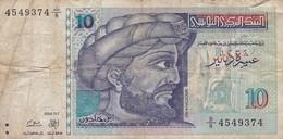 TUNISIE /10 DINARS 1994 - Tunisia