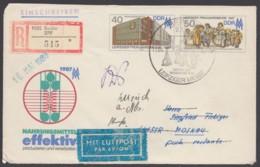 Mi-Nr. U6, Als R- Luftpost Nach Moskau, Retour - DDR