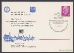 """Mi-Nr. PP10 """"Ausstellung Polen- DDR"""", 1969, Pass. Sst """"Görlitz"""" - [6] Oost-Duitsland"""
