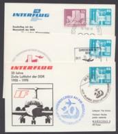 Mi-Nr. PP17, 3 Versch. Karten, Alle Mit Gedruckter Adresse, Pass. Sst - DDR
