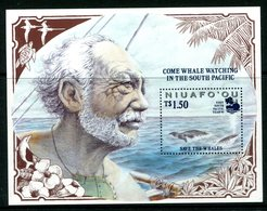 Niuafo'Ou - Tonga 1995 South Pacific Year '95 -  Save The Whales MS MNH (SG MS222) - Tonga (1970-...)