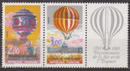 Aerostation - Montgolfière, Pilatre De Rozier - FRANCE - Ballon à Hydrogène - N° 2261-2262 ** - 1983 - Nuevos