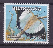 Botswana 2007  Mi. 867    2.00 P Butterfly Schmetterling Papillon Large Blue Emperor Arbutusfalter - Botswana (1966-...)