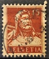 SWITZERLAND 1928 - Canceled - Sc# 173 - 15r - Usados