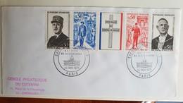 Lettre 1971 - Exposition De Gaulle - Musée De L'Ordre De La Libération Cercle Philatélique Du Cotentin - De Gaulle (General)