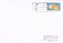 35216. Carta DENIA (Alicante) 1994. Rodillo ROC CHABAS, Historiador Y Archivero - 1931-Hoy: 2ª República - ... Juan Carlos I