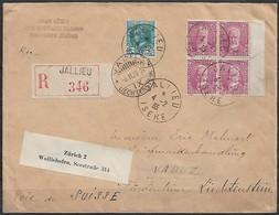 Frankreich - R - Brief  04.02.1935 / Paris Nach Vaduz ( Liechtenstein ) / Siehe Fotos - France